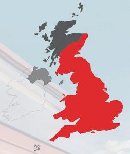 Casa Italia Delivery Map UK
