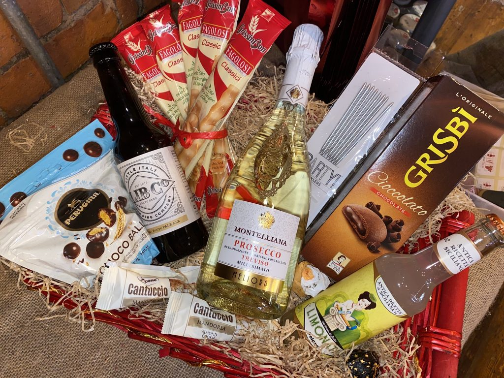 new year Christmas hamper